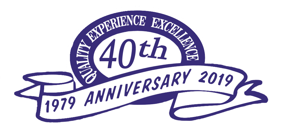 40th anniversary seal Color